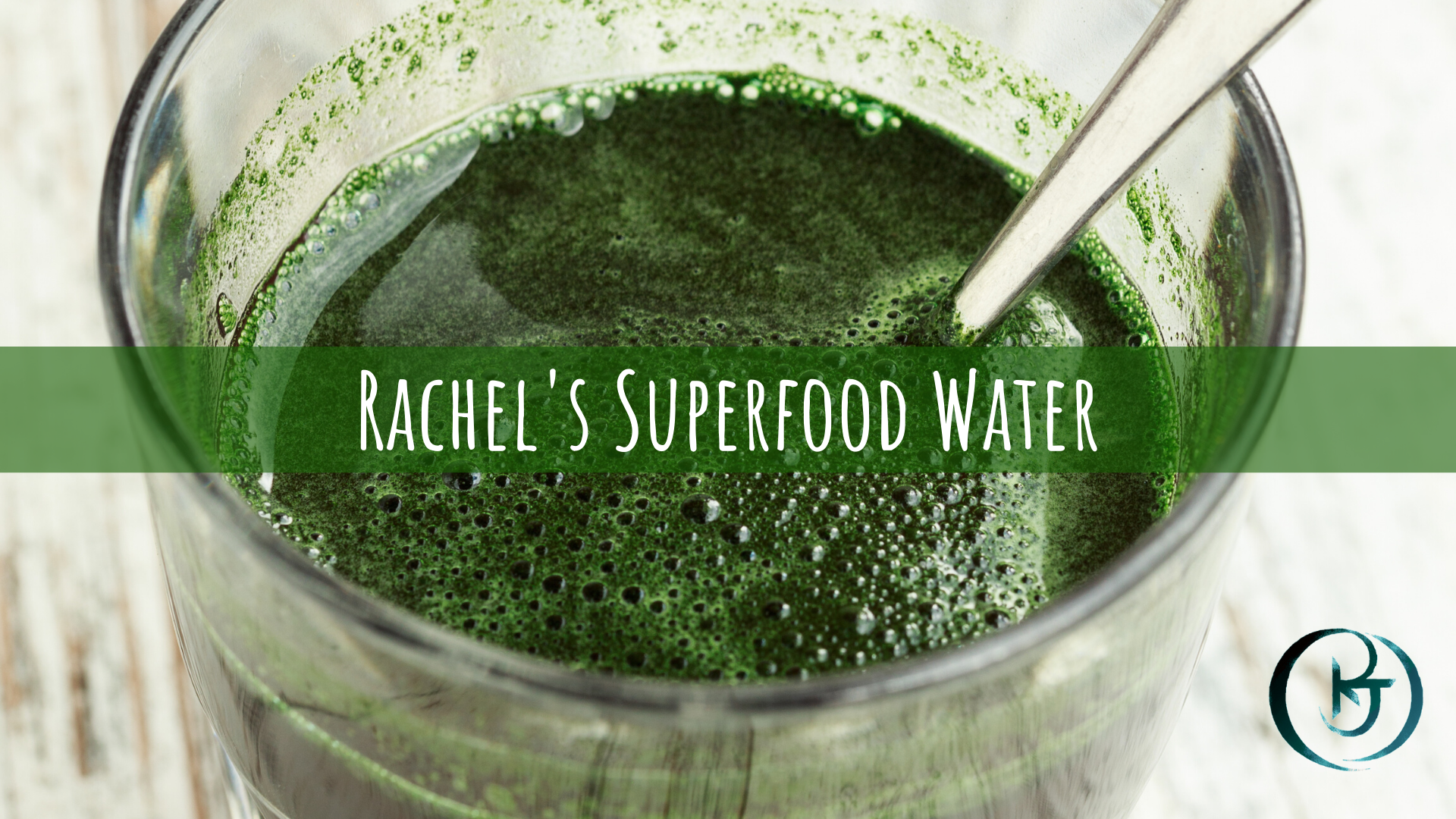 Rachel's Superfood water recipe